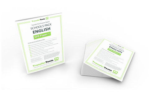 12 x English Practice Printed Papers