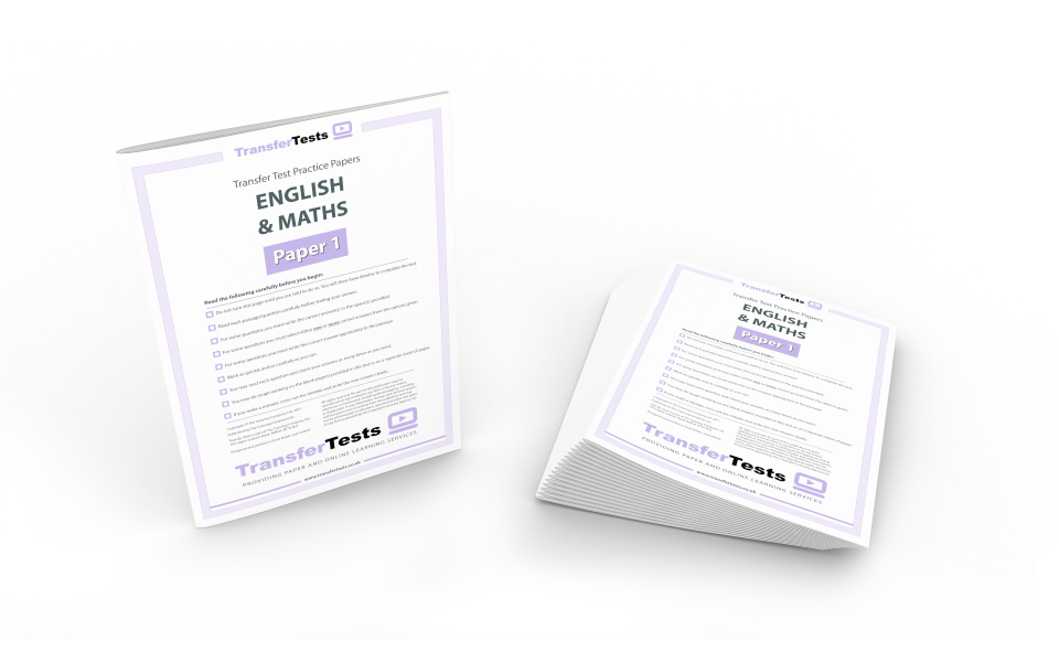 16 x English & Maths Practice Printed Papers