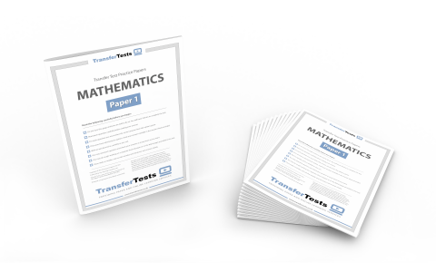 12 x Mathematics Practice Printed Papers