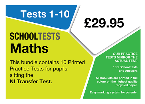 image of school tests maths pack
