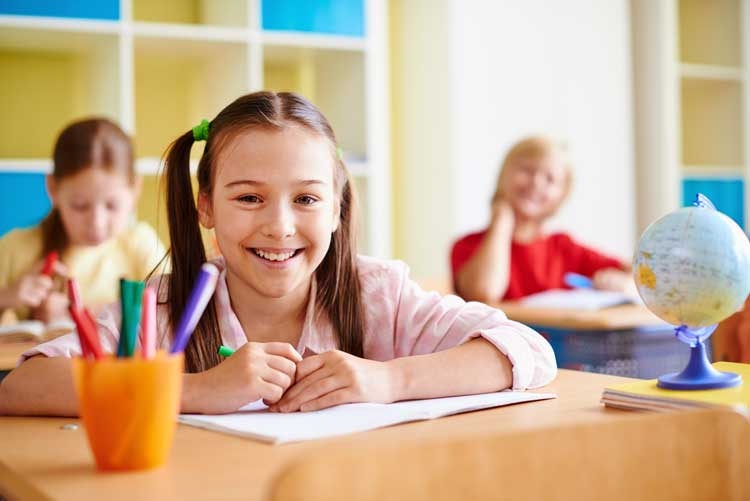 GL or AQE student with big smile